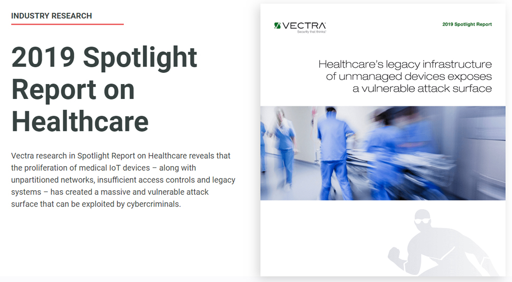 Report: A vulnerable attack surface exists in healthcare enterprise IT networks